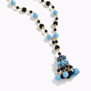 J.Crew // Beaded Drop Down Necklace